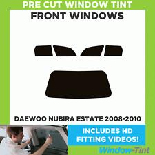 Pre Cut Window Tint - Daewoo Nubira Estate 2008-2010 - Front Windows