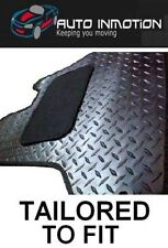 BMW X5 E70 07-13 BLACK TAILORED FITTED CUSTOM HEAVY DUTY RUBBER CAR FLOOR MATS