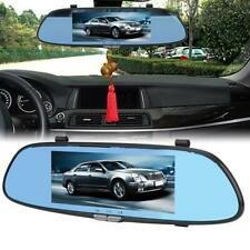 7inch 1080P HD Car DVR Dual Lens Camera Rear View Mirror Driving Video Recorder