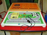 TUDOR Tru - Action Track Meet Electric Game with Original Box Gambling Race