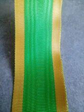 Coupe de ruban pour medaille engagé volontaire 15 cm par 37 mm