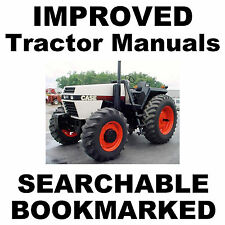 Ih Case 2090 2094 2290 2294 2390 2394 2590 2594 Tractor Service Repair Manual Cd