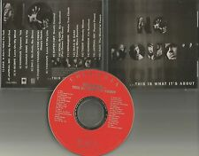 PROMO CD w/ NAS xscape SUPER CAT Kurious JAMAL SKI Diana King FUGEES Tashan  thi