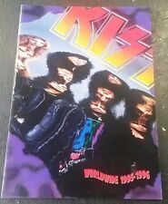 "KISS WORLDWIDE 1995-1996 TOUR PROGRAM 11"" x 14.5"""