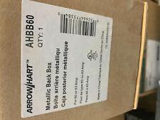 Arrow Hart, AHBB60 Back Box