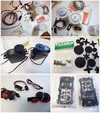 |A Job Lot of Futaba, JR, Hitec,Slec RC Parts, 2 x Ballrace Fut 3001 Servos NEW