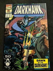 DARKHAWK #1 1991 1st APPEARANCE MARVEL COMICS