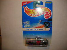 1996 HOT WHEELS FIRST EDITIONS CHEVY 1500 MALAYSIA  GREY SILVER 5sp #367 FREE SH