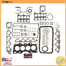 Fits:1990-2001 Acura-Honda 1.6,1.7,1.8 I4 B18C1,B16A2 MLS Full Head Gasket Set