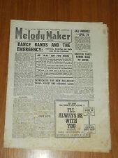 MELODY MAKER 1947 #708 FEB 15 JAZZ SWING SKYROCKETS TED HEATH BARETTO HARRY ROY