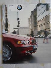 BMW 3 Series Compact brochure 2001 ed 1