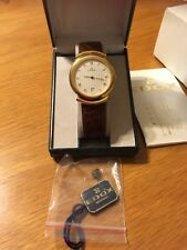 Edox Dress Watch Gulloche Mens Swiss Made/Junghans Strap
