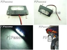 LICENCE MICRO UNIVERSAL LED NUMBER PLATE TAIL LIGHT CAR MOTORCYCLE QUAD CUSTOM