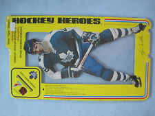 1975 NHLPA UNOPENED HOCKEY HEROES STAND UP DAVE WILLIAMS ROOKIE FACSIMILE AUTO