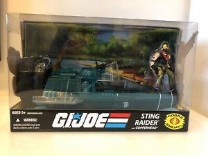 G.I. Joe Sting Raider w/ Copperhead  25th Anv New