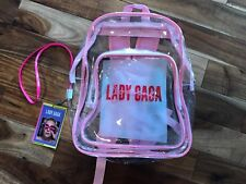 Lady Gaga Joanne Tour Backpack & Laynyard NEW