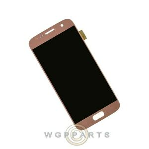LCD Digitizer Assembly for Samsung G930 Galaxy S7 Pink Gold Aftermarket Front