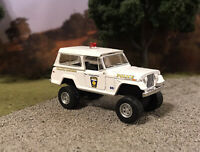 1969 Jeep Jeepster 4x4 Truck Lifted 1/64 Diecast Custom Farm Off Road Police 4WD