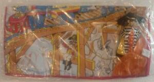 McDonalds PHILIPPINES Vintage Padded Mat with Hamburglar Stuffed Toy
