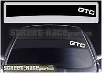 SS1008 Vauxhall Opel GTC sunstrip graphics stickers decals sunstrip Astra Corsa