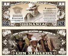 BONANZA - BILLET 1 MILLION DOLLAR US! Collection WESTERN Série TV Américaine USA