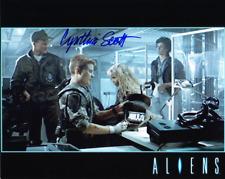 CYNTHIA SCOTT as Corporal Dietrich - Aliens GENUINE AUTOGRAPH