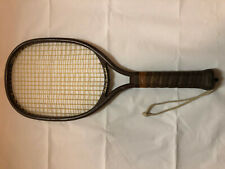 Nice Leach Classic Vintage Brown Charlie Brumfield Racquetball Racket Excellent