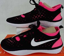 New Mens 9 NIKE Solarsoft Costa Low Black Pink Shoes $70 631389-016