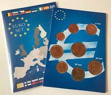 KMS MONACO 2001 - 10 Cent - 2 Euro 2001 mit 1,2,5 Cent Frankreich 1999 RAR
