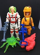 The Real Ghostbusters Lot Egon Spengler Peter Venkman Super Fright Kenner 1989