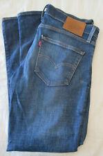 LEVI'S Premium 511 Slim Advanced Stretch 34 x 30 Blue Jeans $89 RetaiL ExCond!