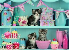 NEW! Ravensburger Kittens & Cupcakes 500 piece jigsaw puzzle 14684