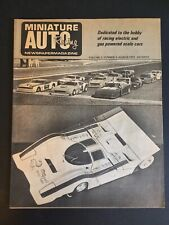 New ListingVintage Miniature Auto Racing Newspaper Magazine March 1972 Thorp Delta Roger