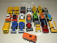 Hotwheels / Matchbox/ Misc Other Brands Construction equipment. Lot Of 22