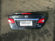Nissan Pulsar B17 Boot Lid 2015  With Spoiler black