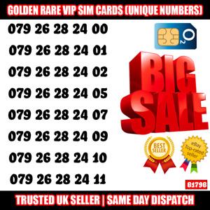 Gold Easy Mobile Number VIP SIM - Easy to Remember & Memorise Numbers LOT B179B