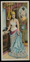 Trade Card - Dr. Strong's Tampico Corset, Deering,  Milliken & Co., Portland, ME