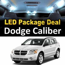 6x White LED Lights Interior Package Deal For 2007- 2010 2011 2012 Dodge Caliber