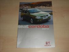 50407) Seat Cordoba Vario Prospekt 07/1999
