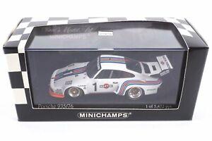 "Minichamps 400766301 Porsche 935/76 Martini ADAC 1976 - 1:43 - Unbespielt ""11267"