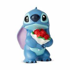 2019 Disney Showcase Stitch Holding Roses Mini Fig Figurine 6002186 Enesco New
