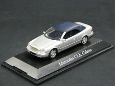 Schuco Mercedes-Benz CLK Cabrio Softtop 1:43 Silver (JS)