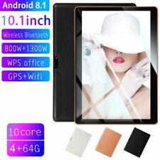 10.1 pollici 4GB+64GB Tablet PC bluetooth Android 8.1 Octa 10 Core WIFI 2 SIM JW