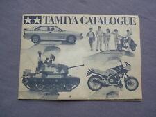 TAMIYA 80s 80er Prospekt Katalog catalogo catalogue brochure catalogó