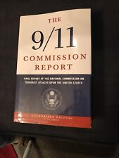 Signed 1st Edition Tom Kean The 9/11 Commission Report Hologram COA ULTRA RARE!