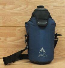 Genuine Rubbermaid Cool Carriers 2 Liter Water Bottle & Traveling Bag Strap