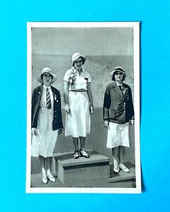 Olympics LA Fencing Helen Preis Austria Seymour Bogen Sammelwerk 1932 #139