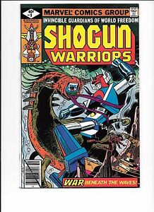Shogun Warriors #9 October 1979 War Beneath The Waves!