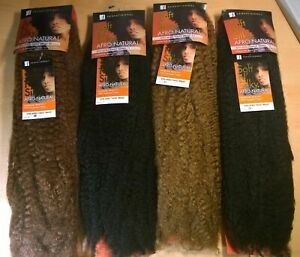 SENSATIONNEL SOFT N SILKY AFRO NATURAL HAIR KINKY/TWISTS/BRAID/MARLEY 24 INCH