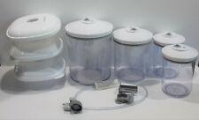 Food Saver Vacuum Sealer Storage Container Lot